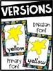 Robot Color Posters - Robot Decor