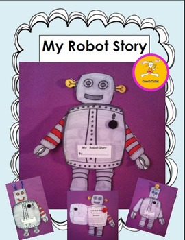 Robot Craft and Writing Activity
