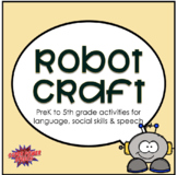 Robot Craft for Speech Therapy