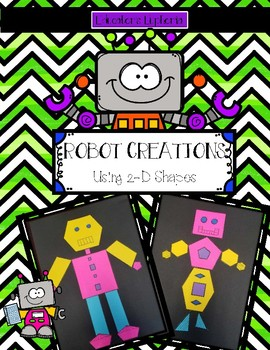 Robot Creations 2-D shapes