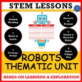 Robot Days STEM Projects - Input Output Tables, Engineering,  Art & Robotics!