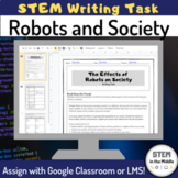 Robot Digital Writing Task Distance Learning
