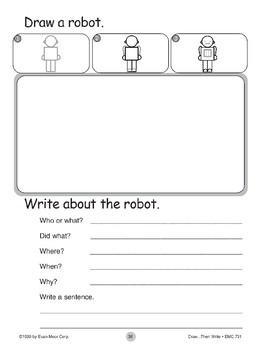 Robot (Draw...Then Write)