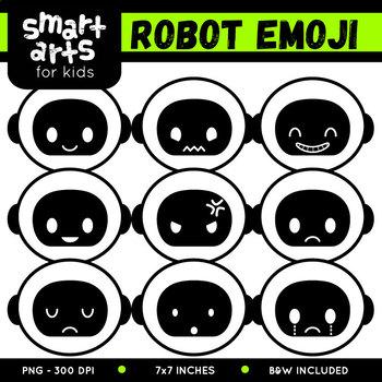 Robot Emoji Clip Art
