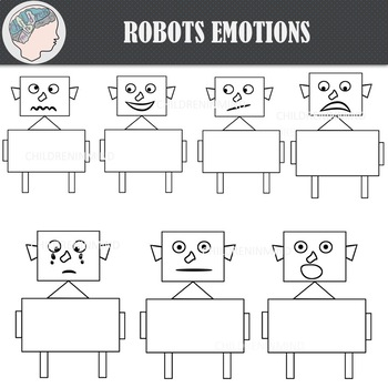 Robot (Emotions) Clipart