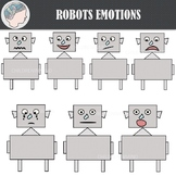 Robots Emotions Clipart (Freebie)