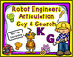 Robot Engineers Articulation Say and Search Bundle