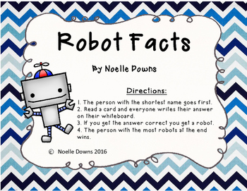 Robot Facts