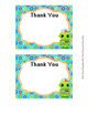 Robot Flat Thank You Note Cards