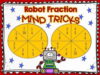 Robot Fraction Mind Tricks: A Comparing Fractions Game