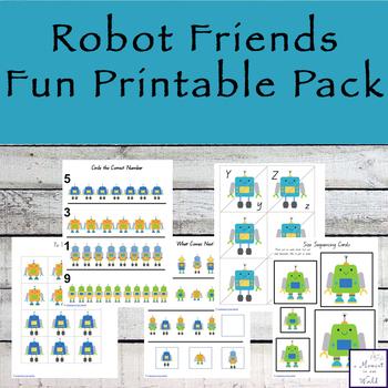Robot Friends Fun Pack