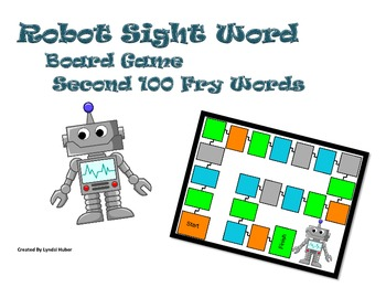 Robot Fry Sight Word Game