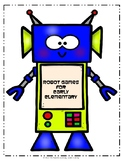 Robot Games for Early Elementary