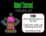 Robot & Gears Calendar Set