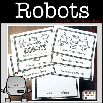 Robot Guided Reading Bundle