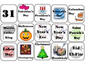 Robot Calendar Set! Robot Bulletin Board! Robot Theme Interactive Calendar!