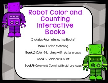 Robot Interactive Color and Counting Book
