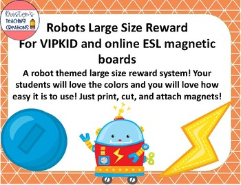 Robot Large Size Reward System for VIPKID and Online ESL