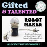 Gifted & Talented - Robot Maker - STEM