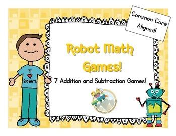 Robot Math Games
