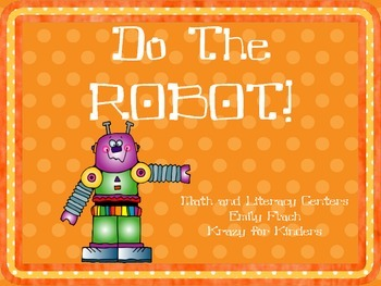 Robot Math and Literacy Centers