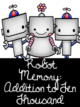 Robot Memory- Addition to 10 000 Canadian