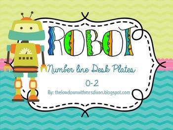 Robot Number Line