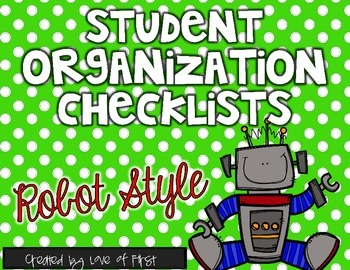 Robot Organization Checklists