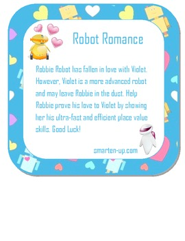 Robot Place Value Boardgame