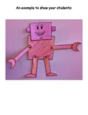 Robot Printable Craft - Past, Present, Future Unit