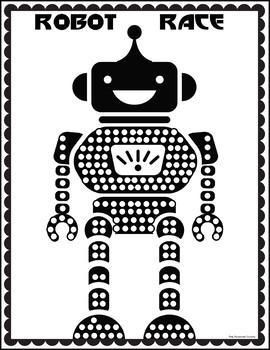 Robot Race Reward Chart