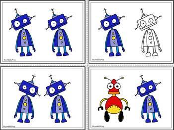 Robot Rally  (targeting same & different)