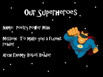 Robot Reader Poetry Fluency Program