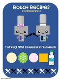 Robot Recipes: Turkey and Cheese Pinwheels