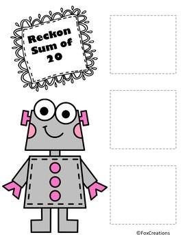 Robot Reckon Sums to 20