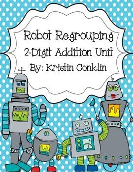 Robot Regrouping 2-Digit Addition
