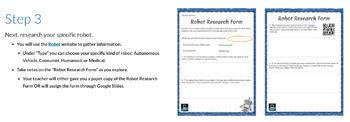 Robot Research: Introduction to Robotics (PLTW)