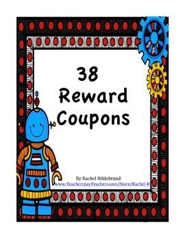 Robot Reward Coupons