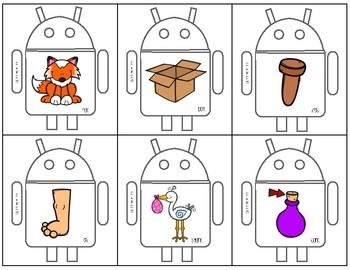 Robot Rhymes Card Game