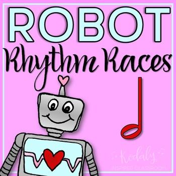 Robot Rhythm Races: half note