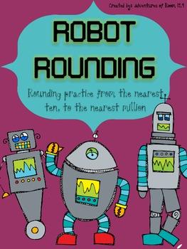 Robot Rounding (Common Core Aligned)