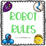Robot Rules Classroom Posters