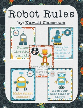 Robot Rules (WBT Rules)