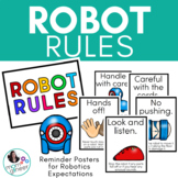Makerspace Posters for Robotics Rules