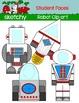 Robot - Student Photo Clip art