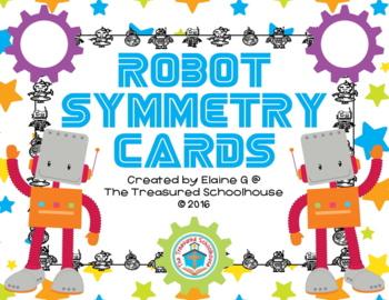 Robot Symmetry Cards