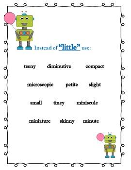 Robot Synonym Poster