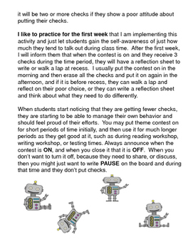 Robot Theme Contest