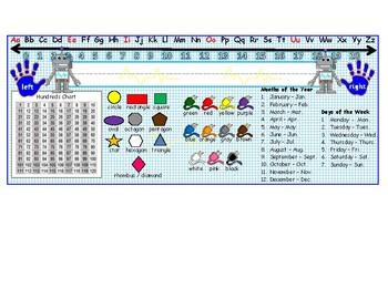 Robot Theme Desk Name Plate