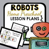 Robot Theme Home Preschool Lesson Plans
